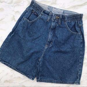 Lee Vintage Mom Jean Shorts Size 6 Medium Wash
